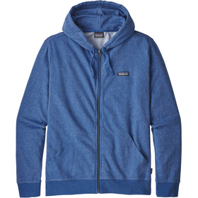Patagonia P-6 Label Lightweight Full-Zip Hoody Men Superior Blue